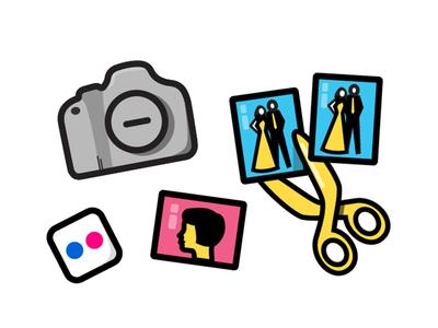 Teen — About Studio Sophy high school teen old school prom photos flickr photos scissors camera icon vector illustration