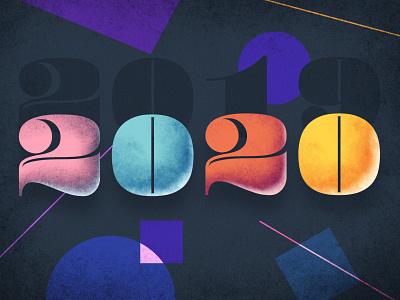 2020 textured 2020 illustration purple wangmander