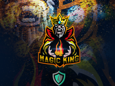 Magic king E-sport logo