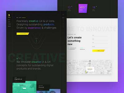 INKOD Website product web screen image portfolio intro agency design creative website ui ux