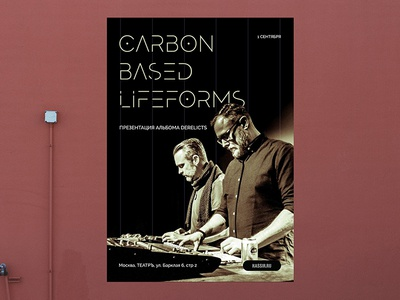 Carbon Poster carbonbased design poster