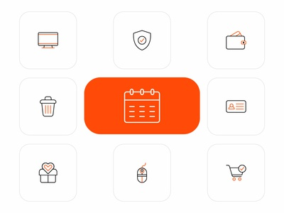 Pixel Perfect Business Icons Design