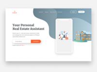 Assistant app - landing page