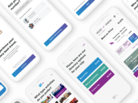 Travel App UI Concept