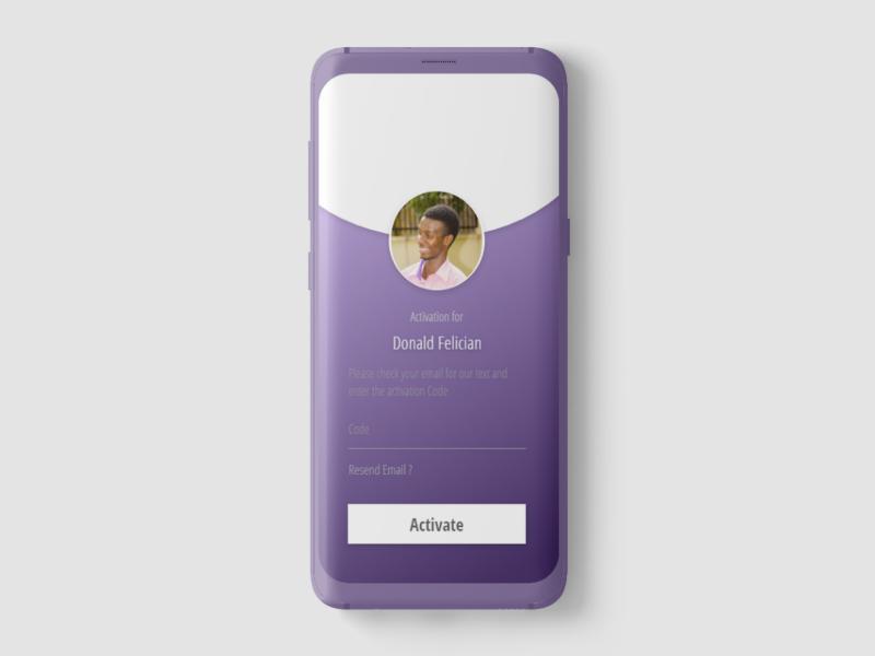forgot password ui design ux ui app