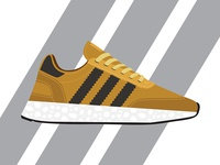 Adidas Iniki Runner Shoe vector