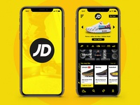 JD concept mobile application