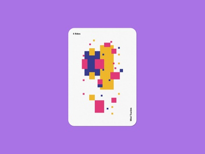 Mind Tourists Cards 4 Sides modernism illustration typography design geometric bauhaus shape minimalistic minimalism minimal minal poster playing cards portfolio branding vector flat music