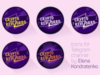 Logo-icon for Telegram Channel CryptoRevizorro
