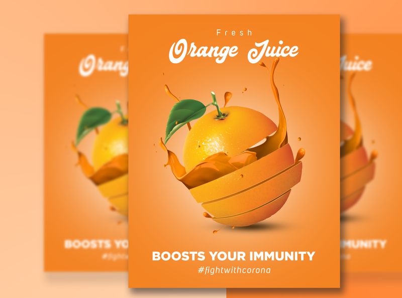 Orange Juice Flyer 🍹🍊