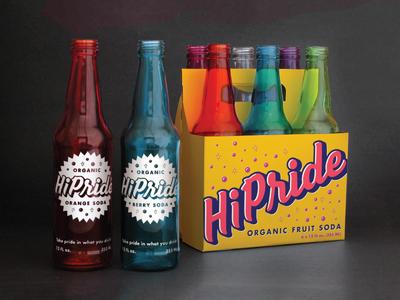 HiPride Bottles and Case