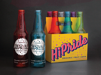 HiPride Bottles and Case