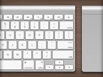Apple Wireless Keyboard and Magic Trackpad illustration illustrator vector
