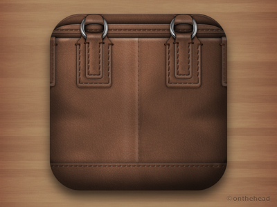 My Bag Icon for iPhone :) icon illustration illustrator vector