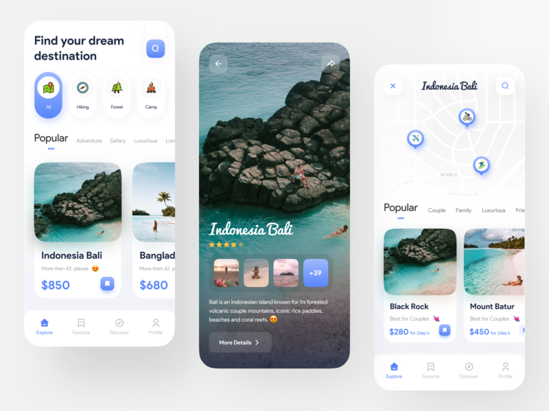 Traveling App UI Design imran finance app trip planner trip adventure travel planner travel agency traveling travel app ux ui product design minimal ios app design dribbble app ui user experience trendy design 2020 trend app design
