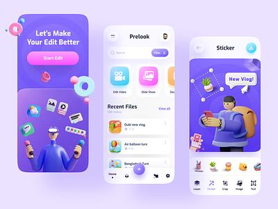 Editing App product design app ui ux imran user experience minimal app design design ui design ios app design popular dribbble best shot trending photo editing