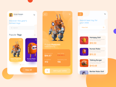 E-commerce Toys Products App