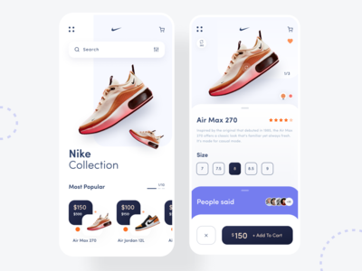 E-commerce Nike Collection App