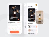 Perfume Products App UI