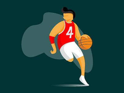 Basketball #1 ui vector ilustration