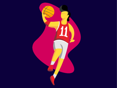 Basketball #2 ui vector ilustration
