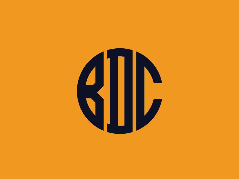 Bryson Design Co monogram V1 alt color monogram b d c bdc logo