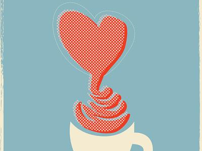 Lovingly crafted - Debenhams poster illustration