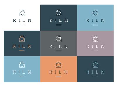Kiln Colour Palette - solid colour branding logo colour