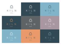 Kiln Colour Palette - solid colour