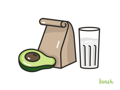 Lunch Icon 🥑