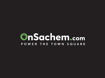 Branding Logo Design for OnSachem logotype vector unique business logo simple typography logo design unique identity design branding minimal