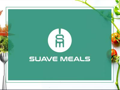 SUAVE MEALS logo design