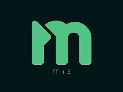 M&3 logo design identity branding unique business logo simple logo design flat ideas creative minimal design m3 logo m letter logo logo 3