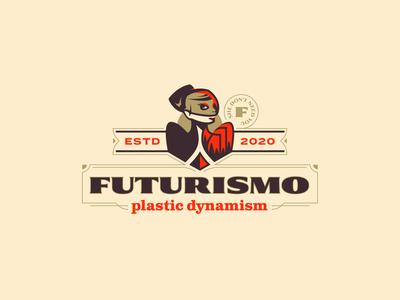 Futurismo future woman female fierce branding design logo branding
