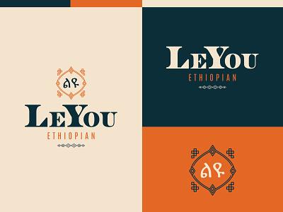 LeYou Ethiopian - Ethiopian Restaurant vector branding design brand restaurant branding logo restaurant food ethiopian