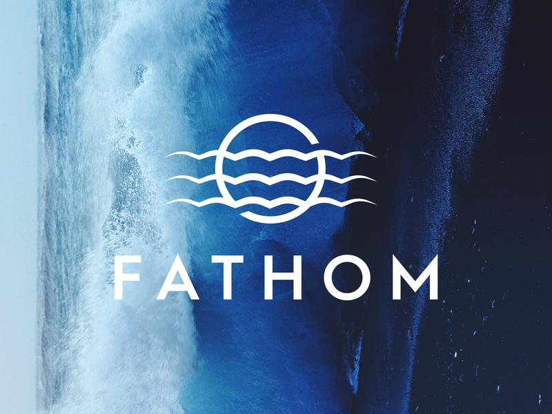Fathom branding logo submarine fathom