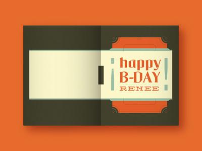 Happy B-Day Renee!