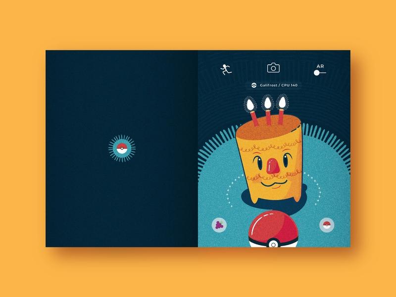 Happy B-day Ben! pokemon go pokemon birthday card happy birthday design