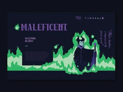 Vile Villainess - Maleficent Bio