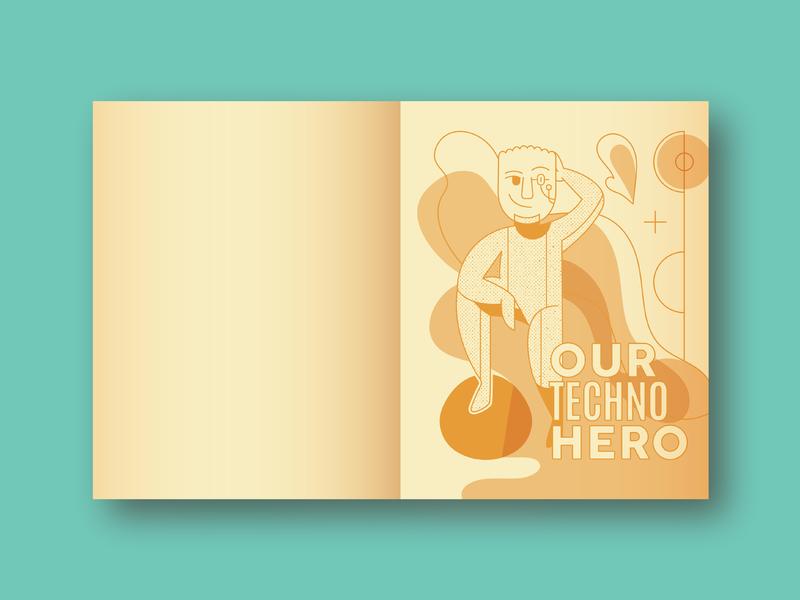 Happy B-day Tristan! portland card robot cyborg android birthday birthday card