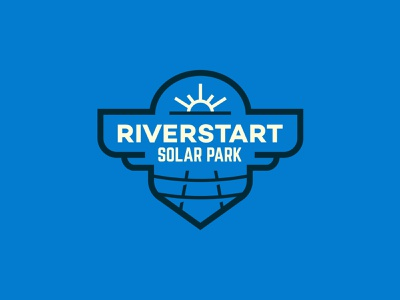 Riverstart Solar Park branding logo solar park edp riverstart