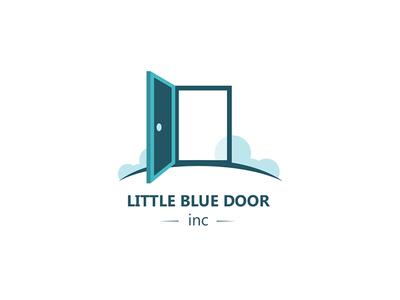 Little blue door