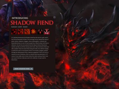 Dota 2 Shadow Fiend