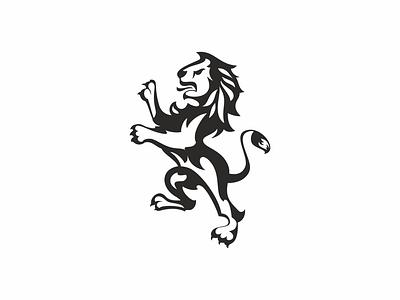 LION 2 lion logo logo illustration animal
