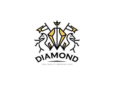 Diamond flag crown horse royalty royal diamond hats
