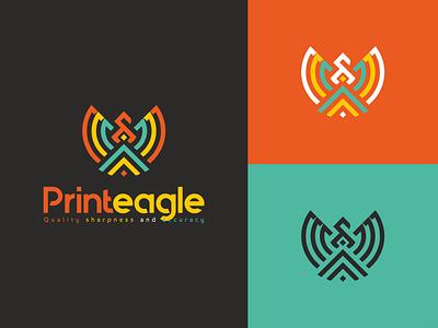 Printeagle print printeagle logo