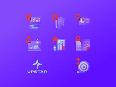 Upstar icons 2 management tools