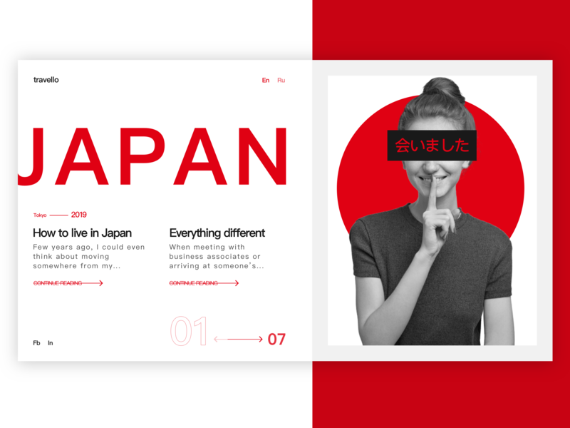 travello asian tokyo japan blogging red travelers travel blog clean welcome clean design web welcome shot clean ui design ux ui dribbble