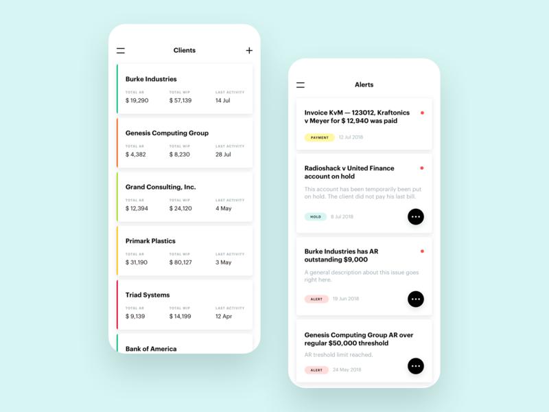 Client App payment white alert client ios app ui ux design