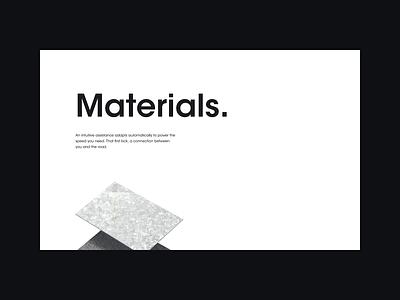 Parallax materials animation parallax white speed 3d boat vela design ui ux web